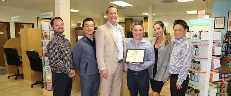 Congressman Harley Rouda Visits Local Compounding Pharmacy in California